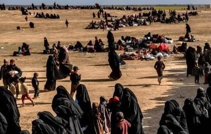 Финляндия эвакуирует детей и женщин, проживавших во временном лагере Эль Холь на территории Сирии