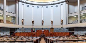 Эпидемия коронавируса стала причиной многомиллионной экономии средств финского парламента