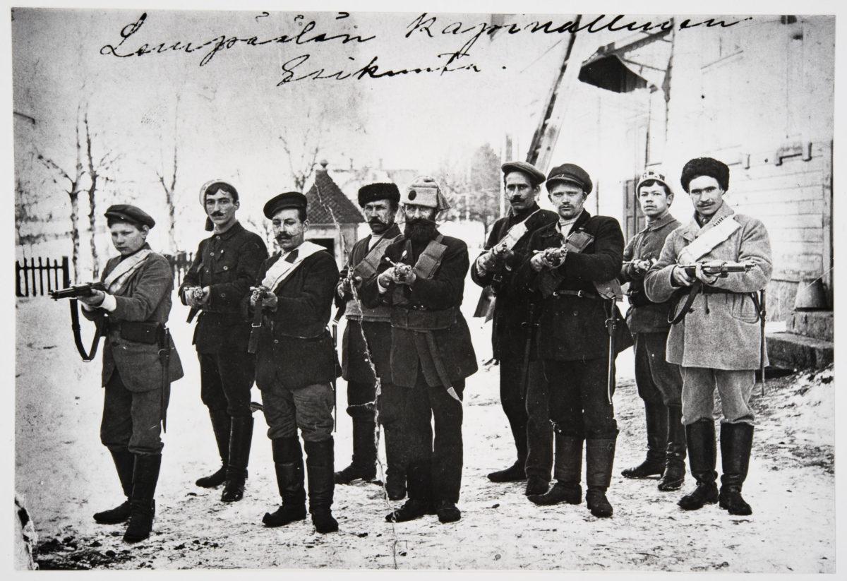 You are currently viewing Финны в гражданской войне в России
