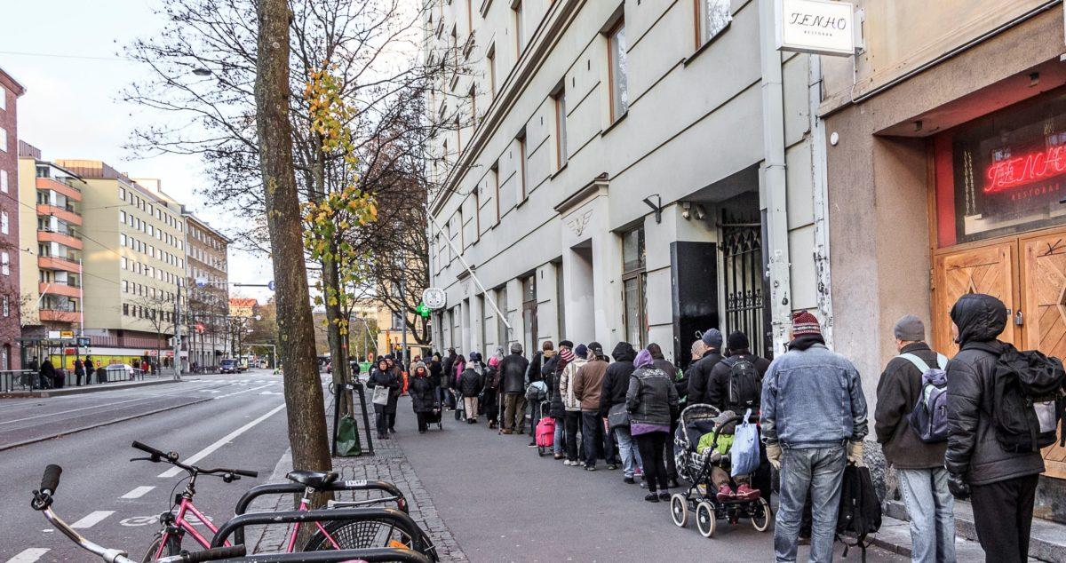 Эпидемия может стать причиной роста количества малоимущих жителей Финляндии