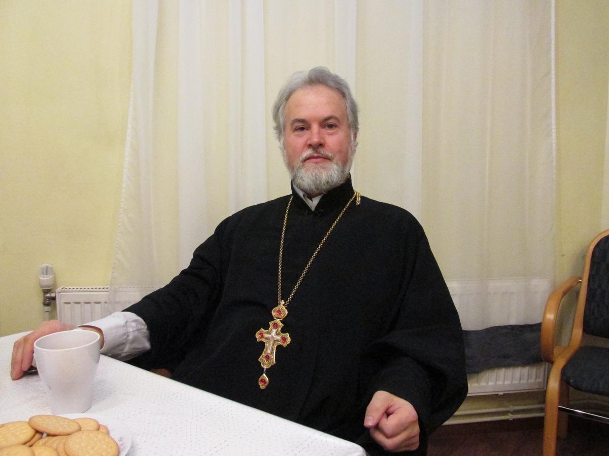 В объективе: Николай Воскобойников настоятель храма, протоиерей
