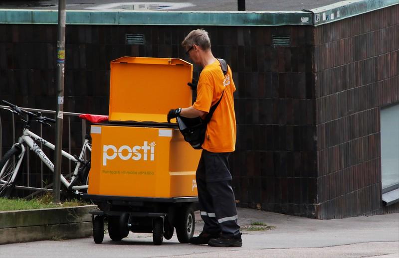 Жители Финляндии отправили по почте рекордное количество посылок