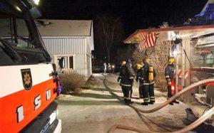 Сочельник в огне: в Финляндии в ночь на 24.12. зарегистрировано несколько серьезных пожаров