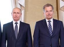 Президенты Финляндии и России обсудили актуальные вопросы