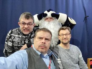 Gazeta • fi — Предновогодний эфир на Lähiradio