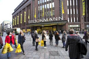 Юбилей торгового дома Стокманн и план санации одной из самых известных торговых сетей Финляндии.