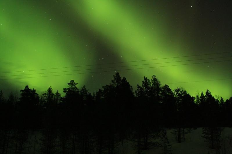 Ясное небо позволит наблюдать северное сияние даже на юге страны