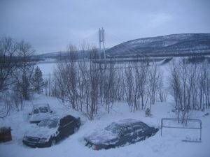 В Утсйоки поставлен температурный рекорд текущей зимы