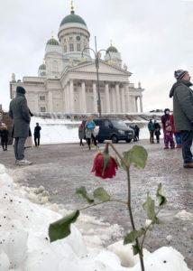 В Хельсинки прошли акции в поддержку Алексея Навального