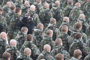 Сегодня первый день службы в армии призывников зимнего призыва