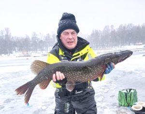 Фоторепортаж с зимней рыбалки на Сайме
