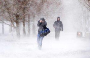 Столичный регион занесло снегом