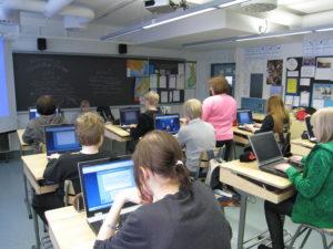 Во вторник 23.2. в Финляндии начался общий набор в учебные заведения второй ступени