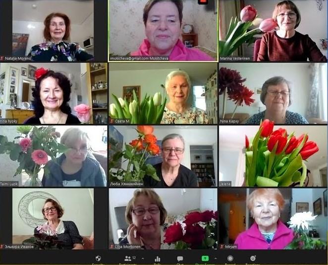 """Проект """"Чайка"""" 8 марта, Хельсинки, Финляндия"""
