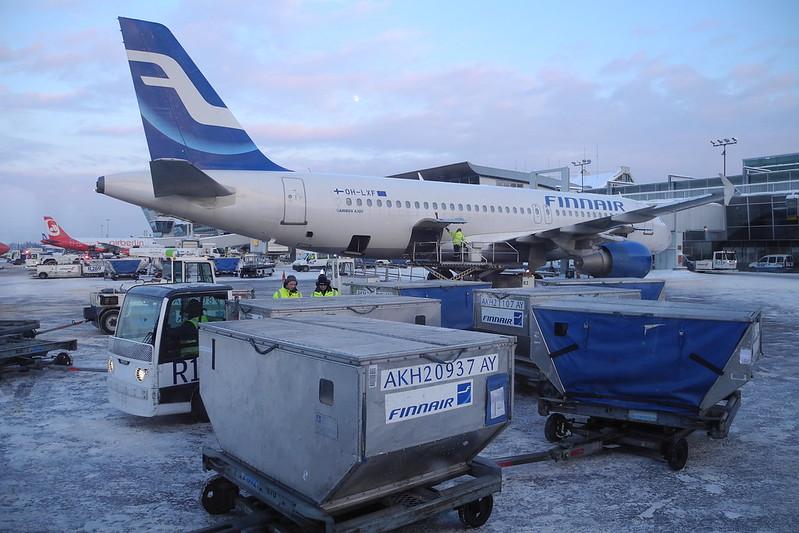 Пассажир отказался использовать маску: вылет субботнего рейса Finnair в Ивало был задержан на несколько часов