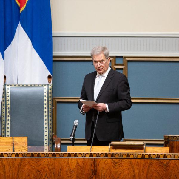 Саули Ниинистё выступает за проведение международной конференции в Хельсинки
