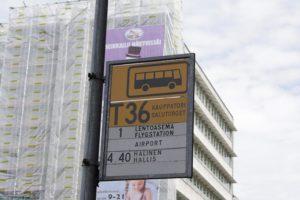 Traficom вводит ограничения, касающиеся общественного транспорта