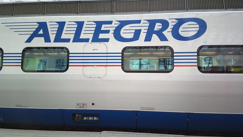 Движение поездов Аллегро должно возобновиться этим летом