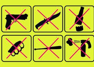 Участившиеся случаи применения холодного оружия вызывают обеспокоенность
