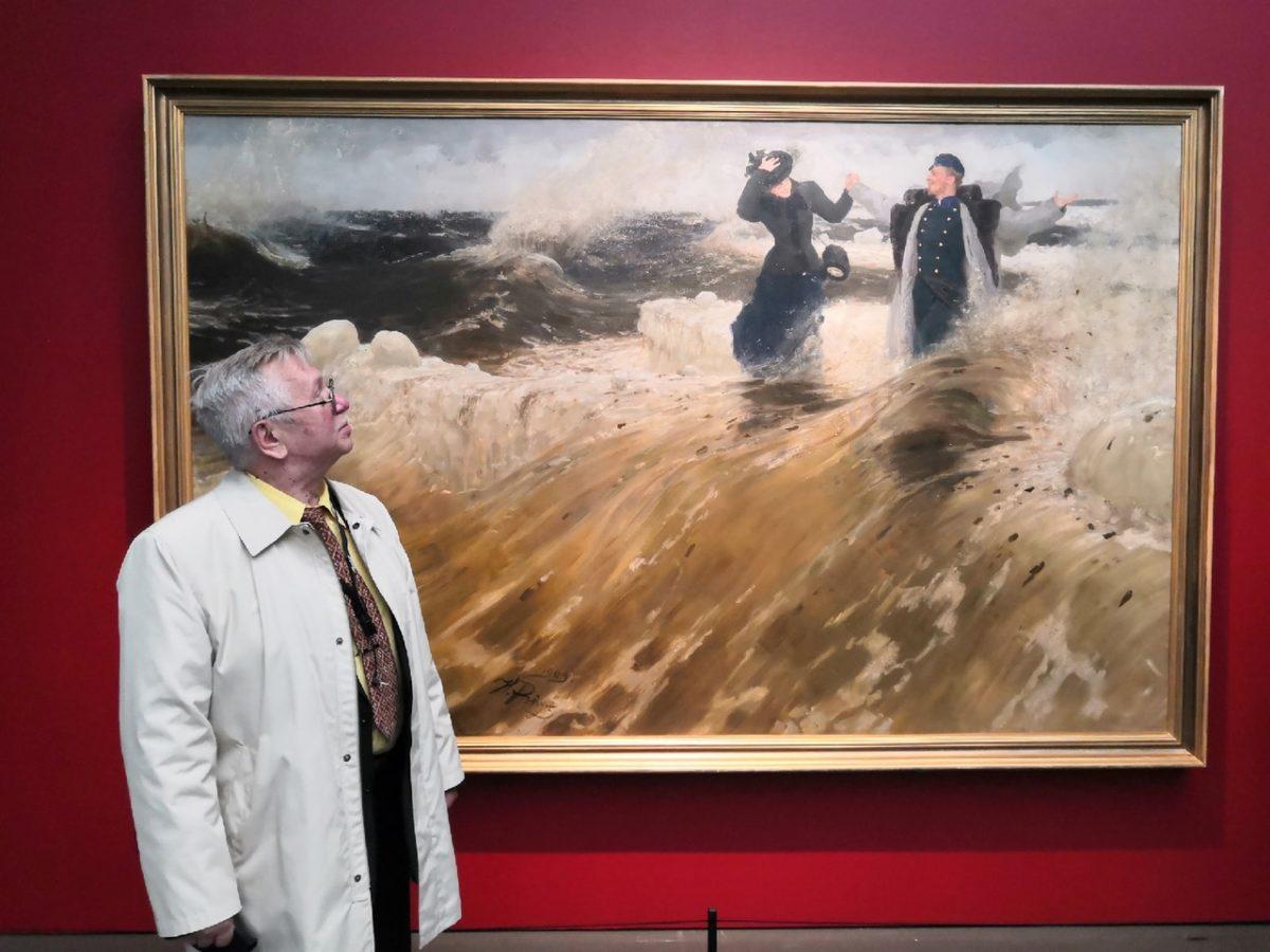 Картинки с выставки, или Русский художник, которого финны считают «своим»