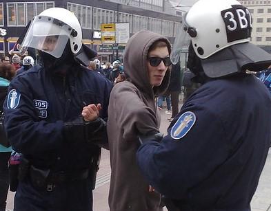 Первого мая в Хельсинки прошел митинг, полиция сообщила о задержаниях