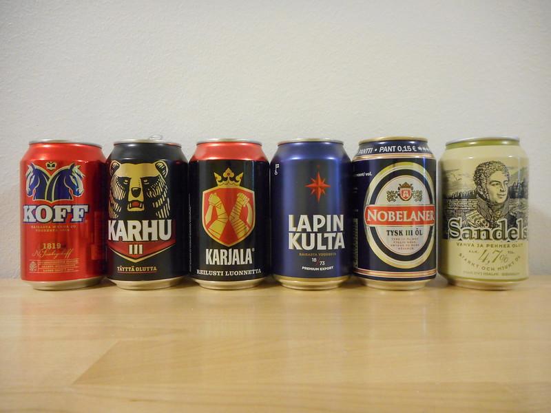 Финские производители прохладительных напитков и пива жалуются на бешеный спрос и нехватку тары
