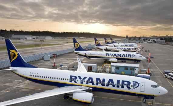 Лоукостер Ryanair начинает полеты из аэропорта Хельсинки-Вантаа