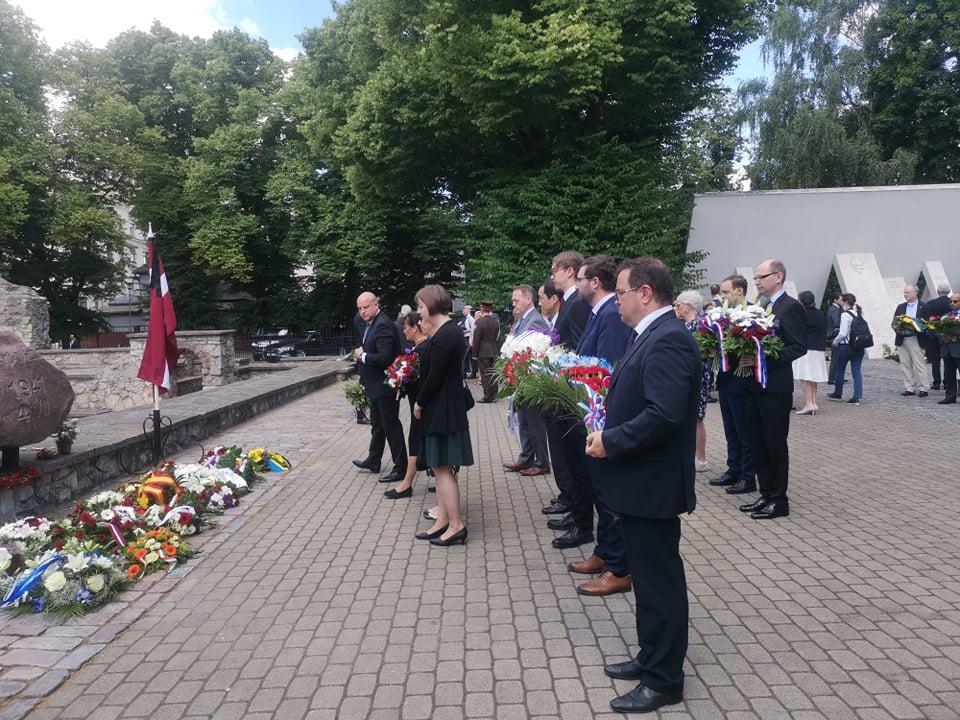 You are currently viewing В Риге не забывают трагедию 3.7.1941.