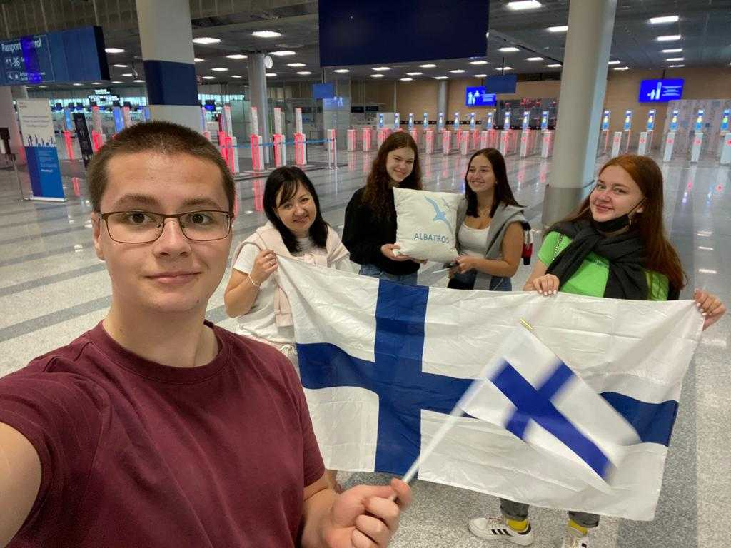 Read more about the article Финские дети отправились знакомиться с Москвой