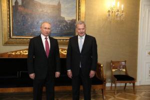 Read more about the article Президенты Ниинистё и Путин обсудили актуальные вопросы