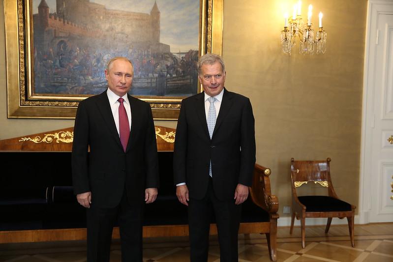 Ниинистё отправится с рабочим визитом в Москву