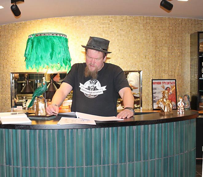 Ресторан Вилле Хаапасало, Давай-давай, Хельсинки, Финляндия