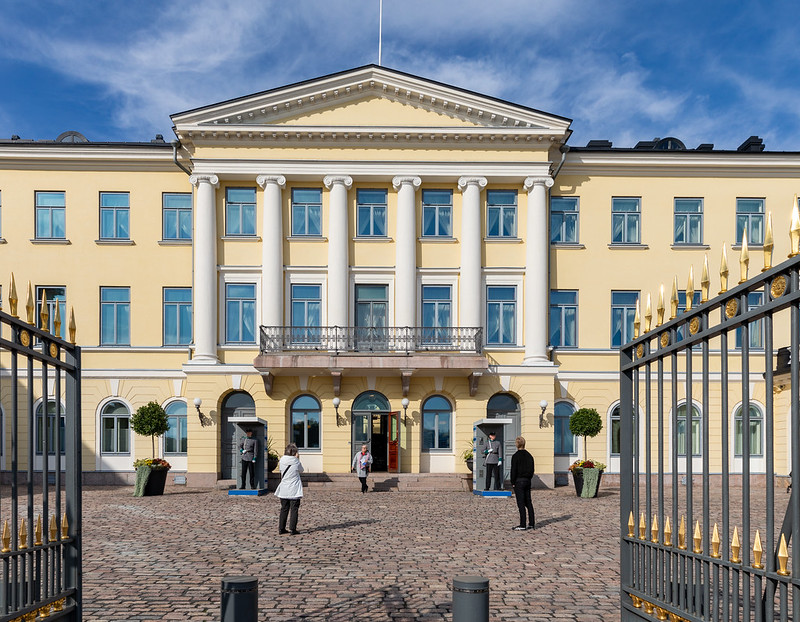 Сегодня состоится встреча президентов Финляндии и Эстонии